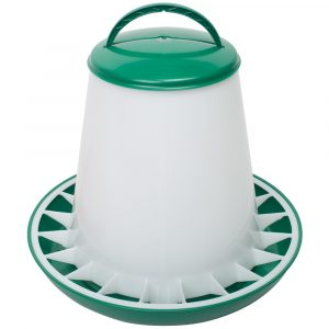 Poultry Feeder 6kg Green